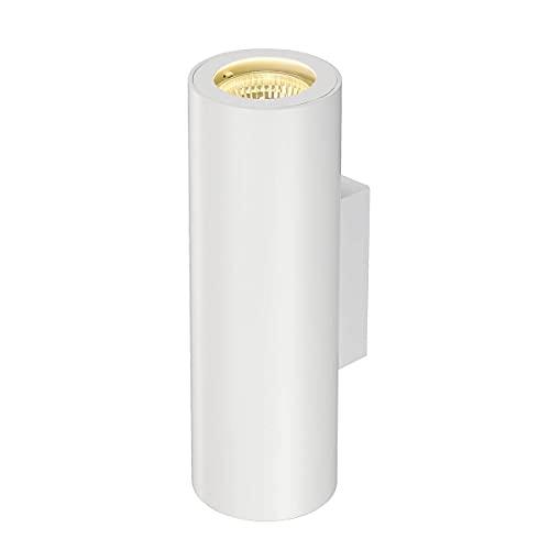 SLV 151801 ENOLA_B UP/DOWN wall lamp, white, GU10, max. 2x50W