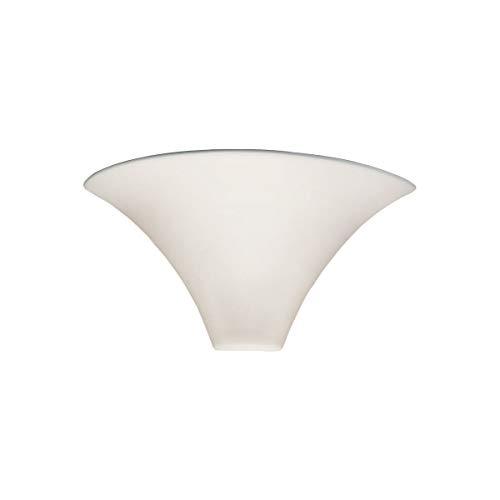 Kolarz céramique Appliques Murales/Cardin en Blanc   Fait à la main Fabriqué en Italie   Applique moderne   lampe R7s