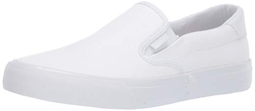 Lugz Men's Clipper Sneaker, White, 9.5 D US
