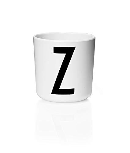 Design Letters - Melamin Becher - Buchstabe: Z - Multifunktionsbecher. Der Klassiker für Baby und Kinder