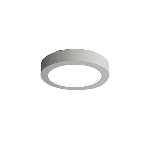 LEDlámpara de techo Lámpara de techo de LED simple moderna nórdica 1 8w 6000k Luz blanca interior de acrílico de acrílico de acrílico Iluminación de la iluminación Luces de techo redondas for la cocin