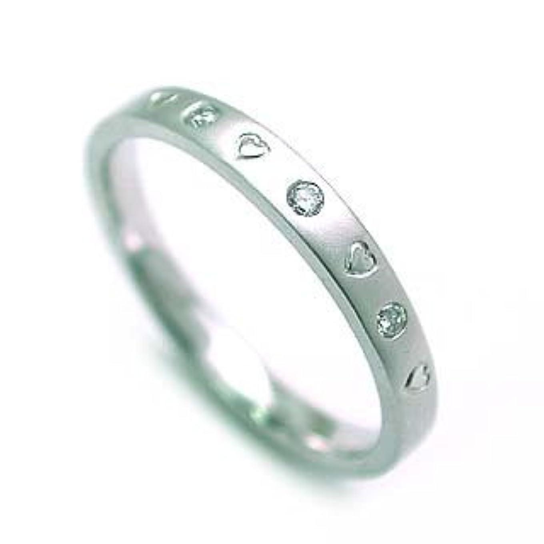 ポータルアトラスバルブプラチナ ダイヤモンドデザインリング #11
