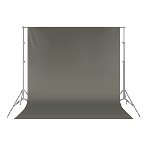 Neewer 1.8 x 2.8M  6 x9ft Photo Studio 100% Pure Polyester Collapsible Backdrop Background for Photography,Video and televison (Background ONLY) - GREY