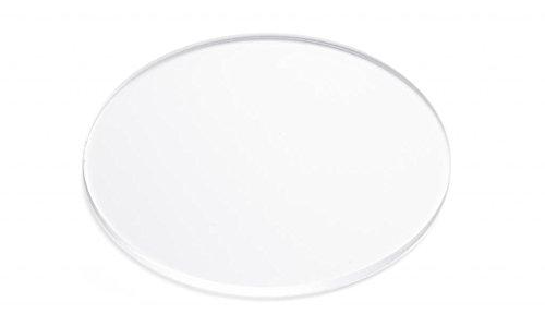 Clear Acrylic Plexiglass Disc, Diameter 24' - 1/4' Thick