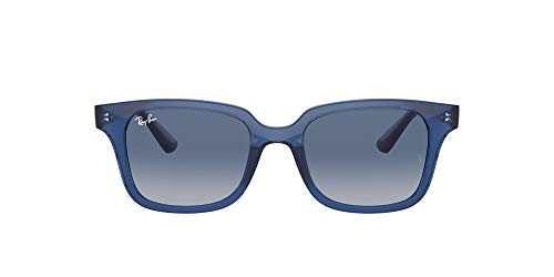 Ray-Ban 0RJ9071S Gafas, TRANSPARENT BLUE, 48 Unisex