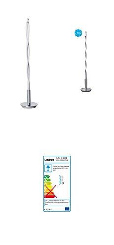 Unbekannt LED Lámpara de Mesa H: 85cm Twist, 170Leds 16,5W, Color: Cromo, Satinado (99293142042)
