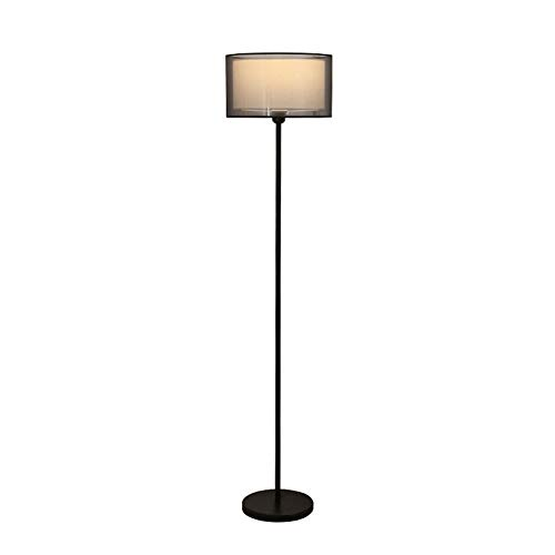 MJLOMJ Lamparas de Pie LED Regulable Salon Diseño Moderno Lámpara de Pie de Esquina 3 Niveles de Ajuste de Brillo Decoración Hogareña, 150cm,A