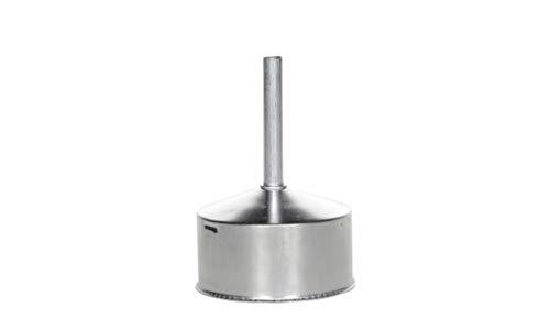 Bialetti 0800107 Blister Embudo, Aluminio, INOX, 19 x 12 x 10 cm