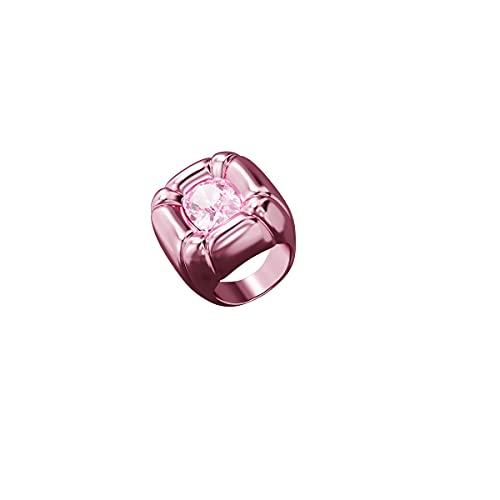 Swarovski Anillo de cóctel Dulcis, Rosa