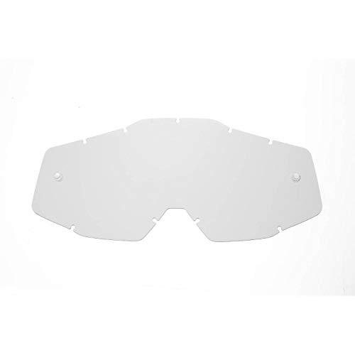 SeeCle SE-41S201-HZ lentes de repuesto para máscaras transparente compatible para màscara 100% Racecraft/Strata/Accuri/Mercury