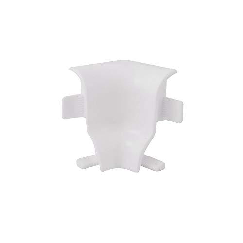 Trevendo® 5er Pack Innenecken 40 mm weiß