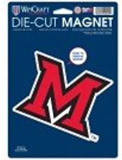 GPSGIFTGALLERY Miami of Ohio Redhawks Die Cut Car Magnet