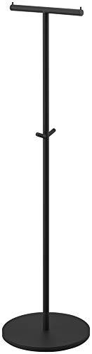 山崎実業(Yamazaki)コートハンガーブラック約W36.5XD36.5XH140cmsmart4081