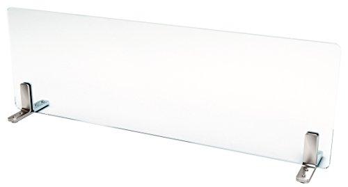 キッチン油はねガード(強化ガラスセット)水はね防止W750×H300mm自立型