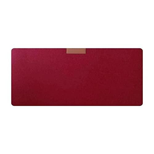 00 vino rojo grande xxl tecla tablero mouse pad escritorio mesa mesa mouse fieltro no tejido mano cálido alfombrilla escritorio teclado almohadilla accesorios