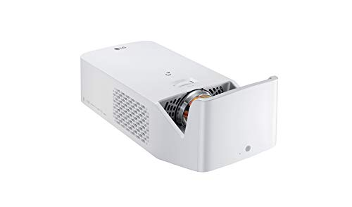 LG Beamer HF65LSR bis 254cm (100 Zoll) CineBeam Full HD Ultrakurzdistanz LED Projektor (1000 Lumen, Drahtlose Screen-Share-Funktion, webOS), weiß