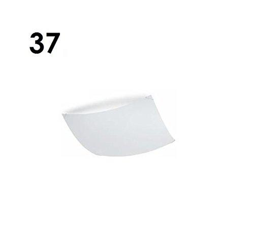 Quadra Ice plafondlamp wit/maat 2/37 x 37 cm