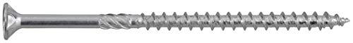 Vite da legno 5 mm 80 mm Profilo a T Acciaio zincato 75 pz. SWG Hox