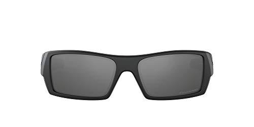 Oakley Sonnenbrille Gascan W/Irid. Polar., Matte Black, One size, 12-856
