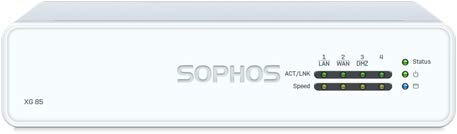 Sophos XG 85 Next-Gen UTM Firewall with 4 GE ports, Flash Memory + Base License - Includes FW, VPN &...