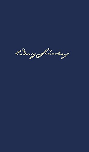 Ludwig Feuerbach. Gesammelte Werke: Paul Johann Anselm Ritter von Feuerbachs Leben und Wirken veröffentlicht von seinem Sohne Ludwig Feuerbach