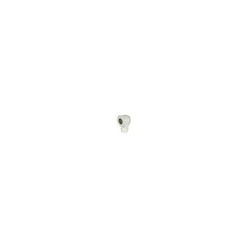 Wolfpack 22011100 Coude vitrifi/é 90/° pour po/êle Noir 100/mm