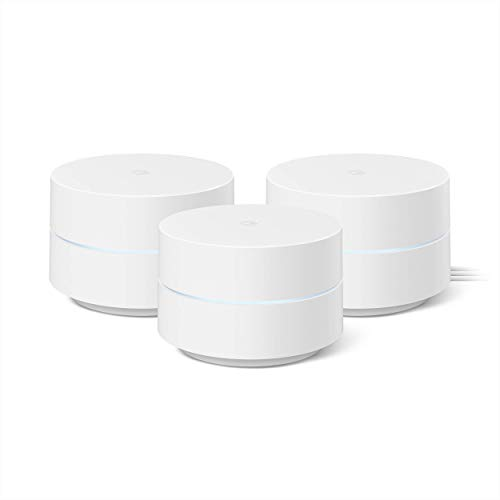 Google Wifi - Mesh Wifi System - Wifi Router Replacement - 3 Pack (Renewed)