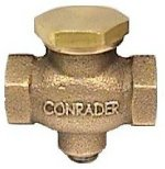 """New Horizontal Check valve for air compressor 3/8"""" FPT x 3/8"""" FPT by CDI/STEUBY/CONRADER"""