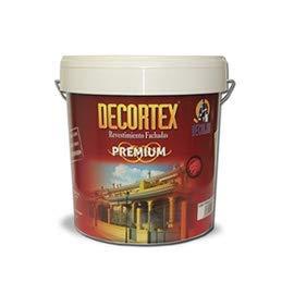 PINTURA FACHADAS ANTIMOHO 23 Kg DECORTEX LISO PREMIUM. Pintura blanca y colores. Pintura ideal monocapa. Pintura lavable. Pintura acrílica al agua. 23 y 6 kg (14 y 4 lt). (blanco 14lt)
