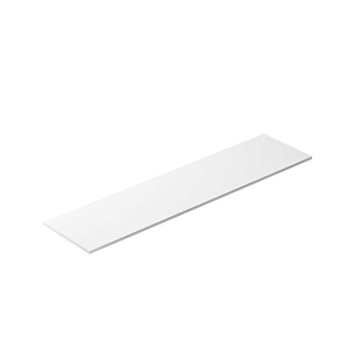 Prep Table Cutting Board Replacement for True 48 x 11.75 x 0.5 Inch HDPE, NSF Approved Poly Plastic
