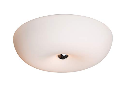 anTes interieur Deckenleuchte Coperta/zeitloses Design/max. 2 x 60 Watt / 30 cm Ø/LED-Leuchtmittel möglich/Deckenlampe