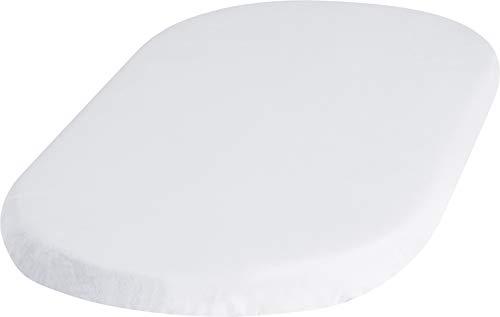 Playshoes 770323-1 Jersey Spannbettlaken für die Wiege, Stubenwagen, wasserdicht und atmungsaktiv, 40 x 70 cm