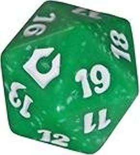 MTG Magic Return to Ravnica Green Speckled Promo Spin Down Counter NEW Die Dice
