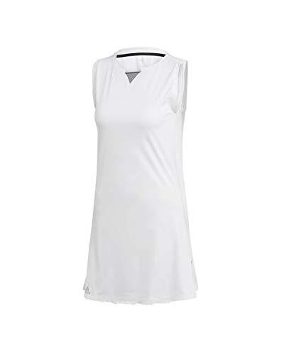 adidas Club Dress, Abito Donna, White, M
