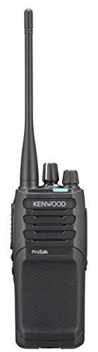 Kenwood NX-P1302AUK 2W UHF Analog Portable Two Way Radio with 16 Channels Capacity | Quad Zone, Tough & Water Resistant Radio
