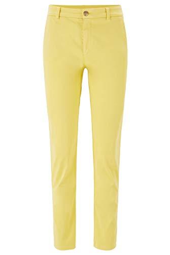 BOSS Damen Sachini4-D' Hose, Gelb (Bright Yellow 730), 34