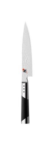 MIYABI Shotoh Spickmesser, Klingenlänge: 13 cm, Spitzes Klingenblatt, Rostfreier Spezialstahl/Micarta-Griff, 7000D