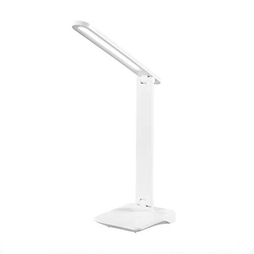 Binn Lámpara de Escritorio Led Mesa Plegable de la lámpara, Protección de los Ojos LED lámpara de Escritorio, Puerto, Multi-ángulo de Ajuste de Carga portátil, con el Soporte, for el Trabajo