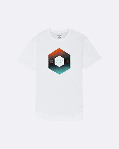 Billabong Herren T-Shirt X-Cess Tee SS, White, L, S1SS44