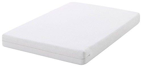 TEXTURAS HOME - Funda de colchón ELÁSTICA Transpirable Rizo Algodón Adaptable Itana Confort (90_x_200_cm)