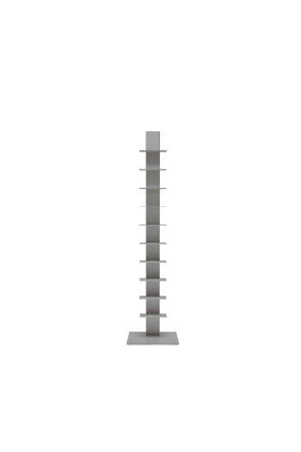 Estantería Sapiens H.152cm (10 estantes) Aluminio Goffrato