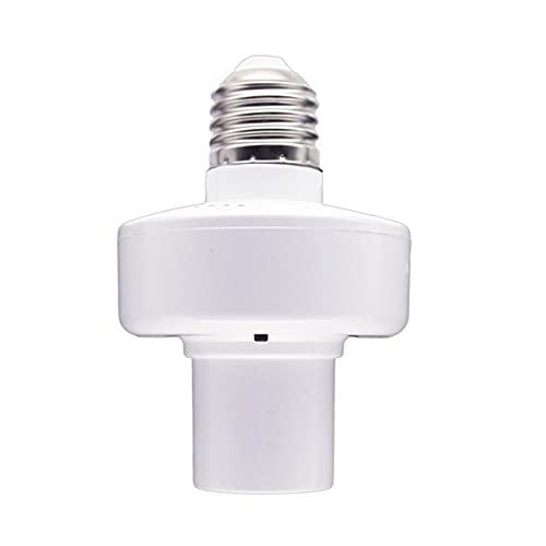Easyeeasy E27 WiFi Smart Light Socket Smart Lamp Head APP Control de voz Lámpara inteligente Head Light Bulb Socket para ECHO para Google