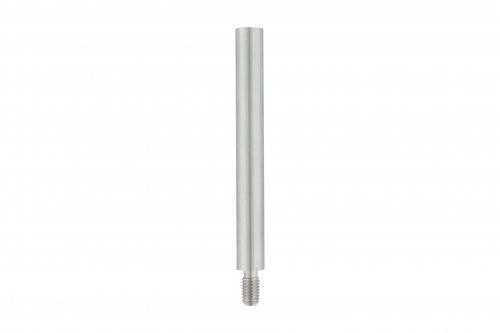 ø 12mm Stift, mit M8 x 15mm Außengewinde unten und M6 x 15mm Innengewinde oben, Länge 120mm