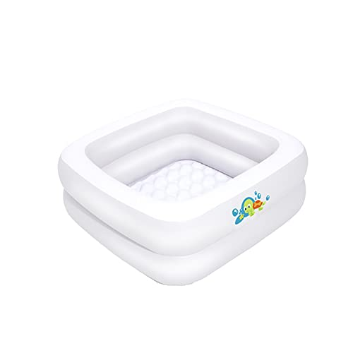 Baignoire Gonflable Pour Bébé, Baignoire Gonflable De Voyage Pour Bébé, Baignoire De Siège De Bassin De Douche à Air Pliable (blanc)