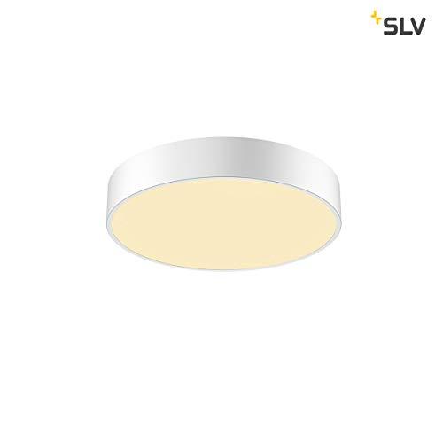 SLV MEDO 40 CW, CORONA, LED Indoor Wand- und Deckenaufbauleuchte, TRIAC, weiß, 3000/4000K