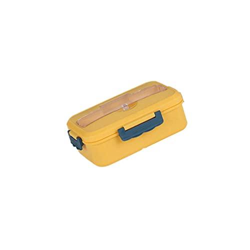 Estudiante caja de almuerzo de paja de trigo Vajilla puede ser Microondas Almacenamiento de Alimentos Caja de Contenedor de Plástico Oficina Portátil Bento Caja de almuerzo Bolsa