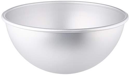 DECORA 0062958 Form Halbkugel, Aluminium eloxiert, silber/schwarz