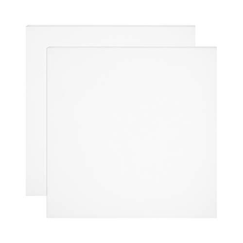 BENECREAT 2 PCS Placa de de Silicona Lámina de Silicona Blanca 250x250x1mm Tablero de Juntas Resistente a Altas Temperaturas, Utilizado para Hacer Juntas y Sellos