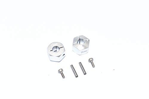 Carson 500530929 TT02B 12mm Alu Felgenmitn. Br. 9mm (2), Ersatzteil, Modellbau, Zubehör, Tuningteile