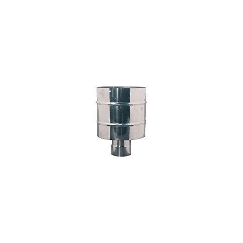 sombrero antiviento chimenea estufa de pellets Acero inoxidable D ° 150mm de humos